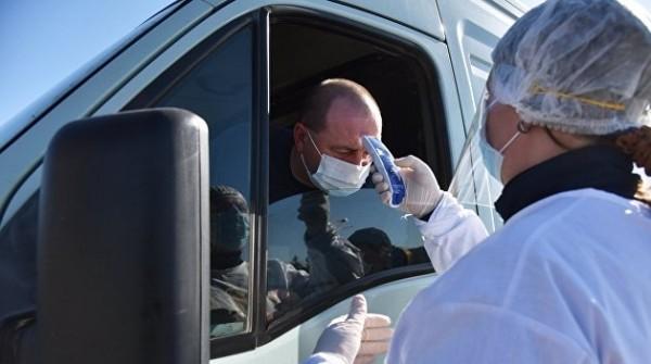 На Украине зафиксировали почти 45 тысяч случаев заражения COVID-19