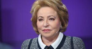 Матвиенко похвалила Россию и Казахстан за борьбу с COVID-19